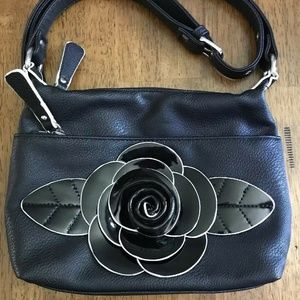 Sharif New York Leather Crossbody Boho Bag